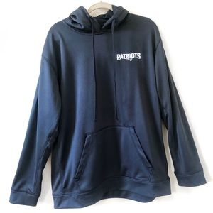 New England Patriots NFL Navy Hooded Sweatshirt XL